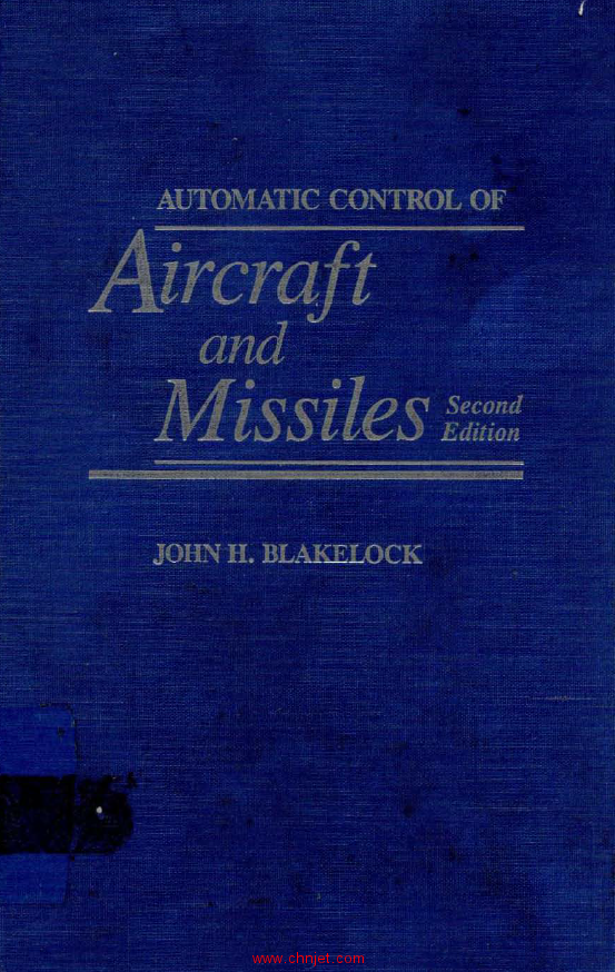 《Automatic Control of Aircraft and Missiles》第二版