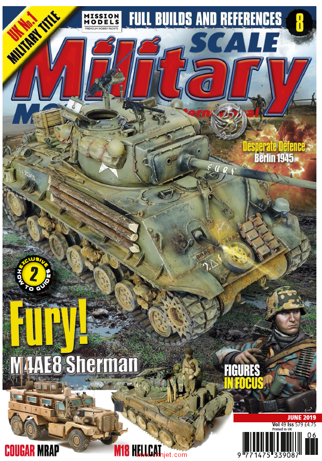 《Scale Military Modeller International》2019年6月