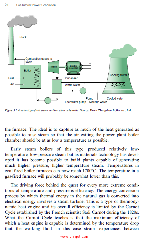 《Gas-Turbine Power Generation》
