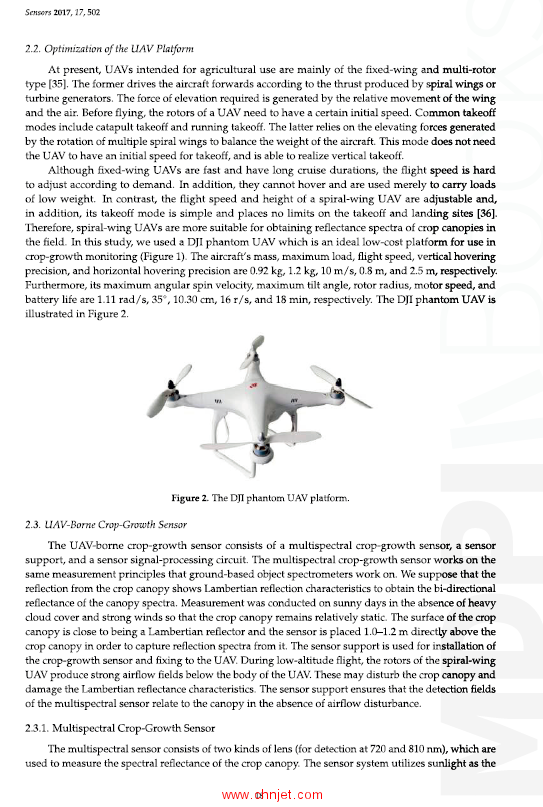 《UAV‐Based Remote Sensing: Volume 2》