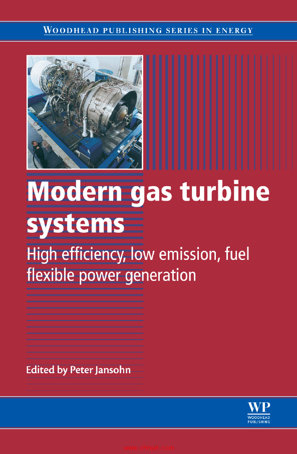 《Modern Gas Turbine Systems: High Efficiency, Low Emission, Fuel Flexible P...