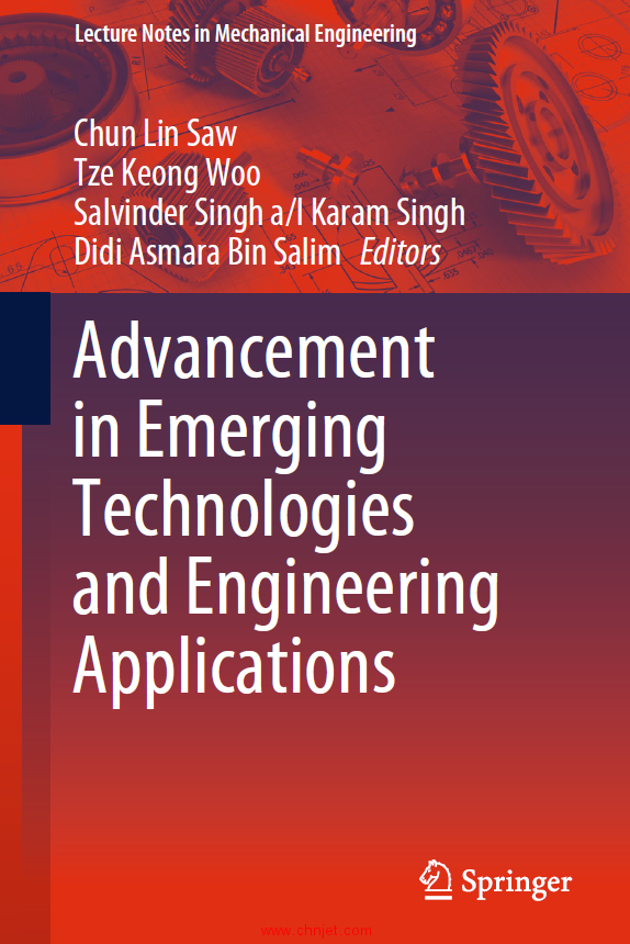 《Advancement in Emerging Technologies and Engineering Applications》