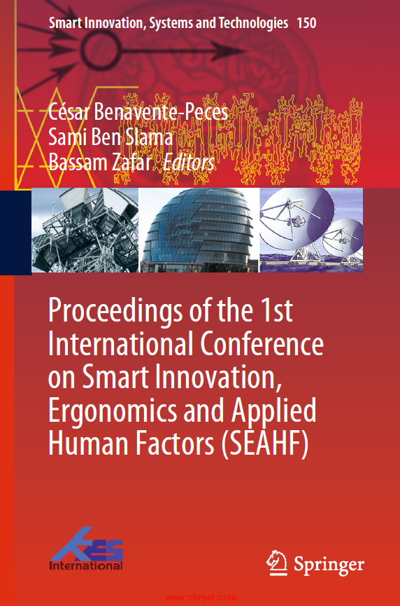 《Proceedings of the 1st International Conference on Smart Innovation,Ergonomics and Applied Human F ...