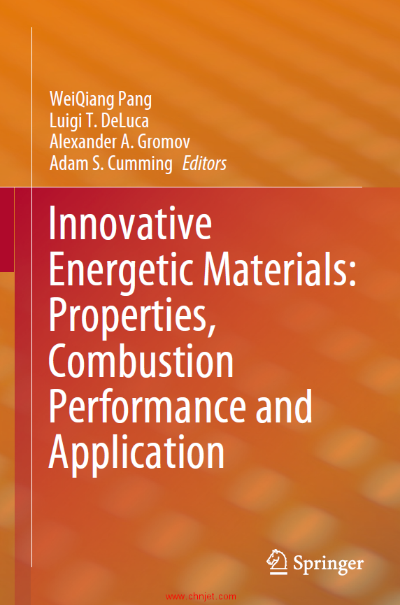 《Innovative Energetic Materials: Properties,Combustion Performance and Application》